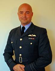 Photo of Sqn Ldr Jonny Finbow